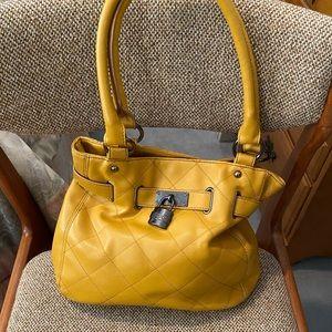 EUC mustard yellow Relic satchel